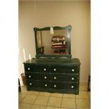 6-Drawer Dresser w/Mirror