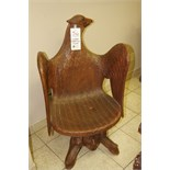 Wooden Carved Chair (female)