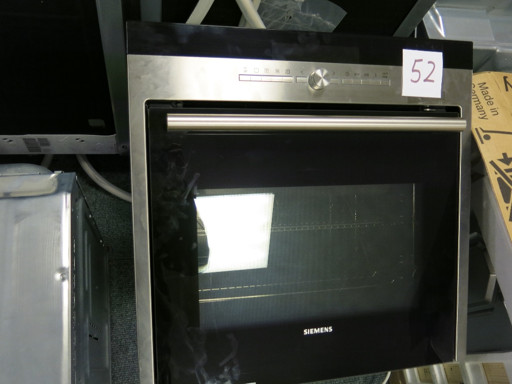siemens model hb78ab570b type ht5hbp7 stainless steel. Black Bedroom Furniture Sets. Home Design Ideas