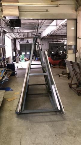 Lot 32 - Wheeled A Frames