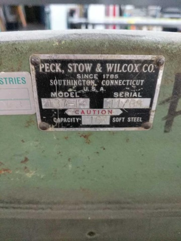 Lot 122 - Pexto 137-L Foot Shear