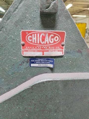 Chicago W-39 Finger Brake - Image 3 of 4
