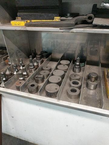Piranha P50 Hydraulic Ironworker - Image 6 of 7