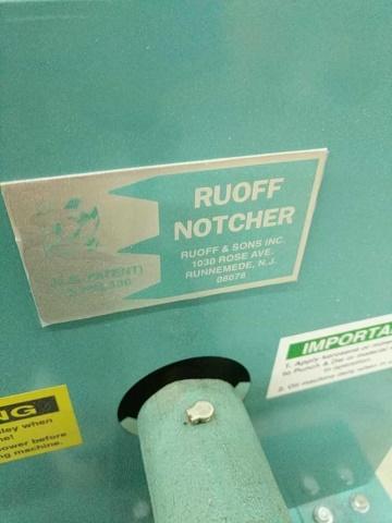 Ruoff Notching Machine - Image 2 of 6