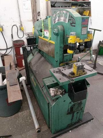Piranha P50 Hydraulic Ironworker - Image 4 of 7