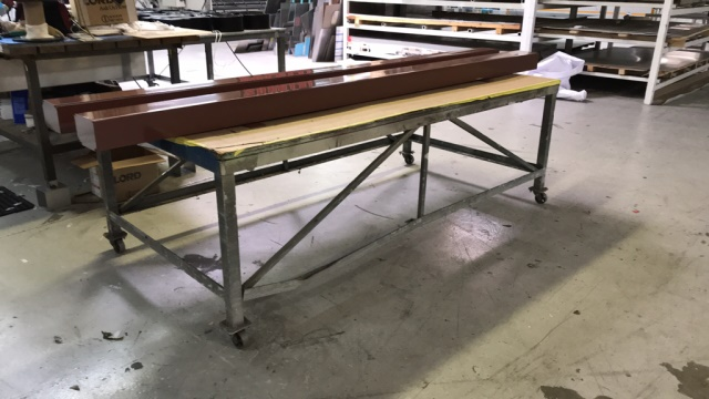 Lot 31 - Rolling Shop Tables