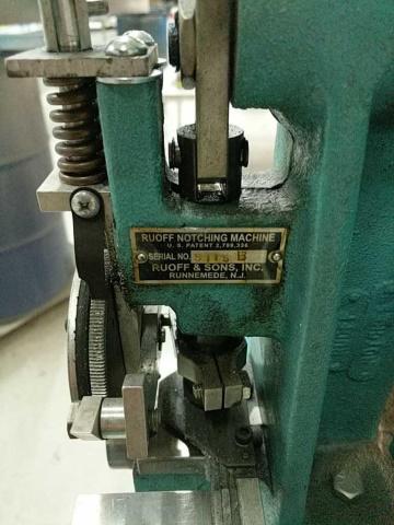Ruoff Notching Machine - Image 3 of 6