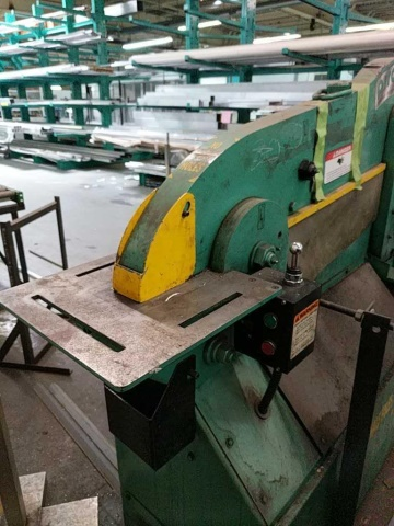 Piranha P50 Hydraulic Ironworker - Image 5 of 7