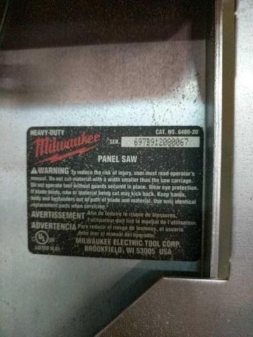 Milwaukee 6480-20 Vertical Panel Saw - Image 2 of 5