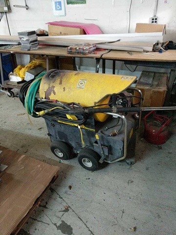 Landa Hot2-1000D (Hot2-11021D) Pressure Washer