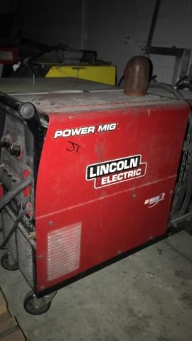 Lincoln Power Mig 255XT mig welder