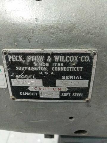 Pexto 390F Bench Slip Roll Machine - Image 2 of 5