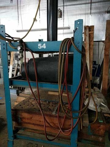 Custom Vacuum Forming Press - Image 2 of 2