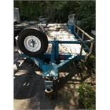 1994 Proline Tandem Axle Flatbed Equipment Trailer