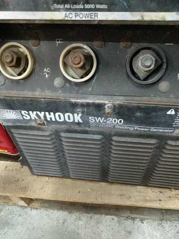 Miller Skyhook Sw-200 Cc-Ac/Dc Welding/Power Gener - Image 2 of 5