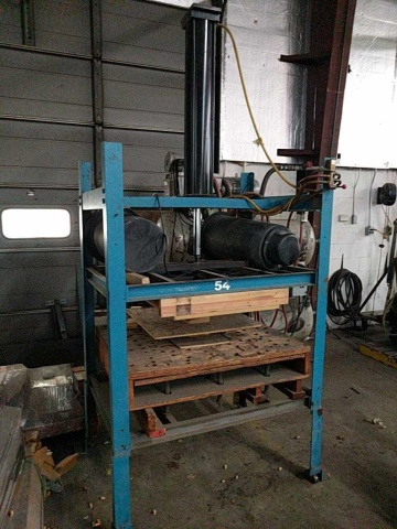 Custom Vacuum Forming Press