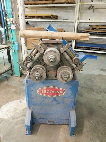 Lot 117 - Ercolina CE50H3 Power Roll Bender