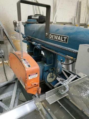 Lot 111 - Dewalt Ge Radial Arm Saw