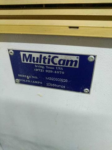 Multicam CNC Router - Image 2 of 5