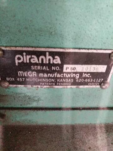 Piranha P50 Hydraulic Ironworker - Image 3 of 7