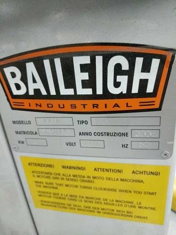 Baileigh AV226-B Av-B Power Corner Notcher - Image 4 of 6