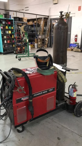 Lincoln Power Mig 350 Mp Mig Welder - Image 2 of 3