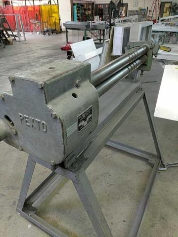 Pexto 390F Bench Slip Roll Machine - Image 5 of 5