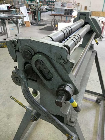 Pexto 390F Bench Slip Roll Machine - Image 4 of 5
