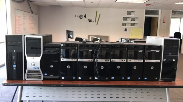 Lot 17 - Lot of Assorted Computers