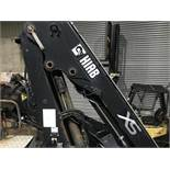 2007 HIAB 122 XS 12 TON METER CRANE HIAB LOADER STAND UP CONTROLS AND NORMAL, GOOD CONDITION