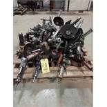 LOT OF PNEUMATIC ANGLE GRINDERS