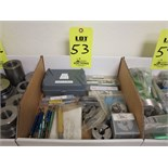 LOT OF THREAD GAGES AND RING GAGES