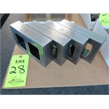 "LOT OF (4) 2"" X 5"" X 8"" GAGE BLOCKS"