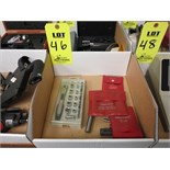 LOT OF STARRETT AND ACE TOOLS