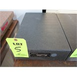 "12"" X 18"" X 4"" GRANITE SURFACE PLATE"