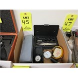 LOT OF (5) MEASURING TOOLS
