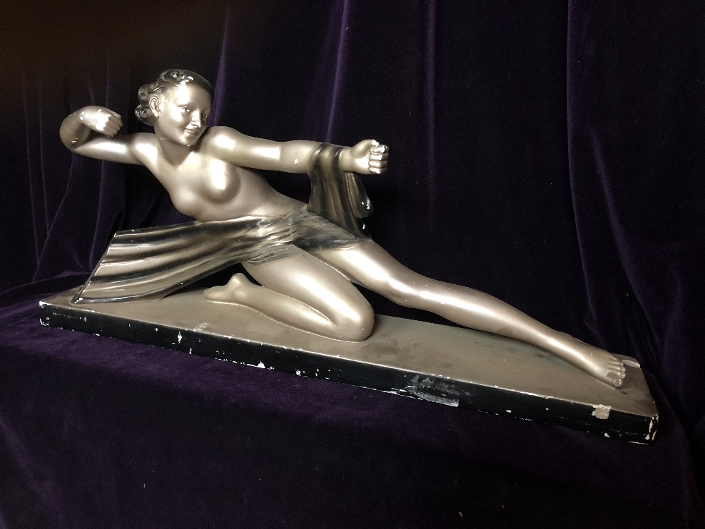 Lot 25 - Plaster Sculpture