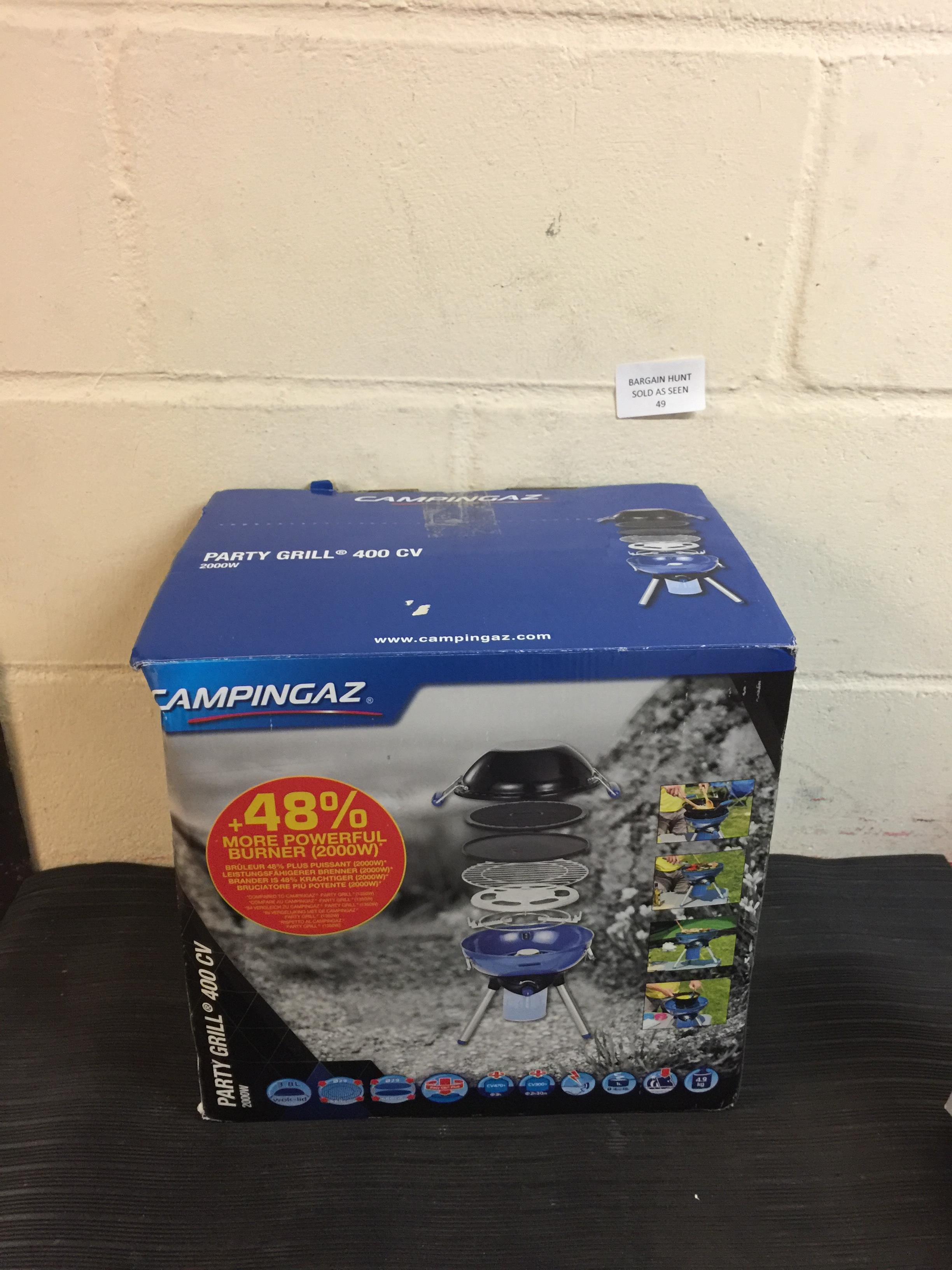 Lot 49 - Campingaz Party Grill CampStove Grill RRP £78.99