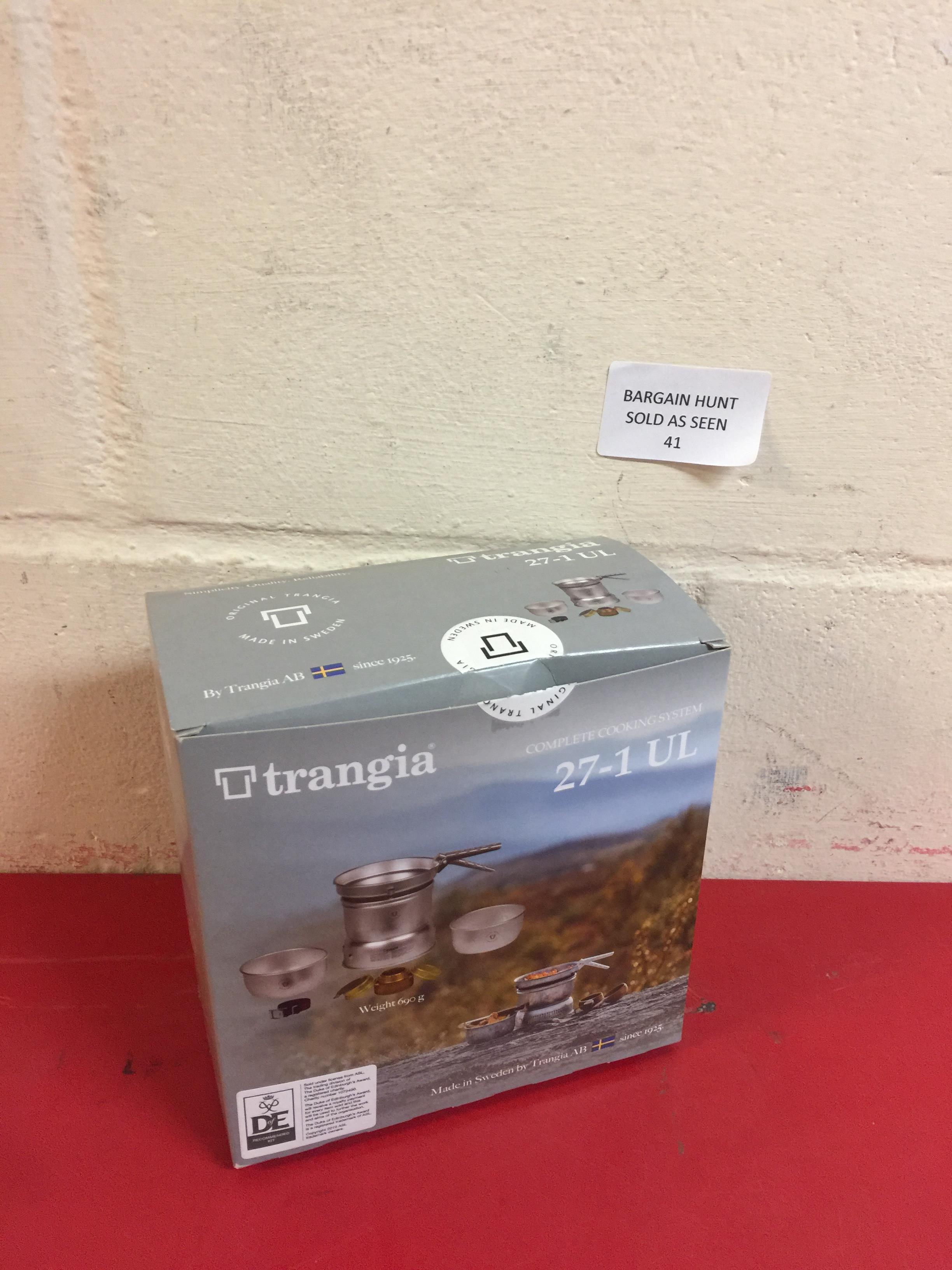 Lot 41 - Trangia 27 Cookset with Spirit Burner RRP £44.99
