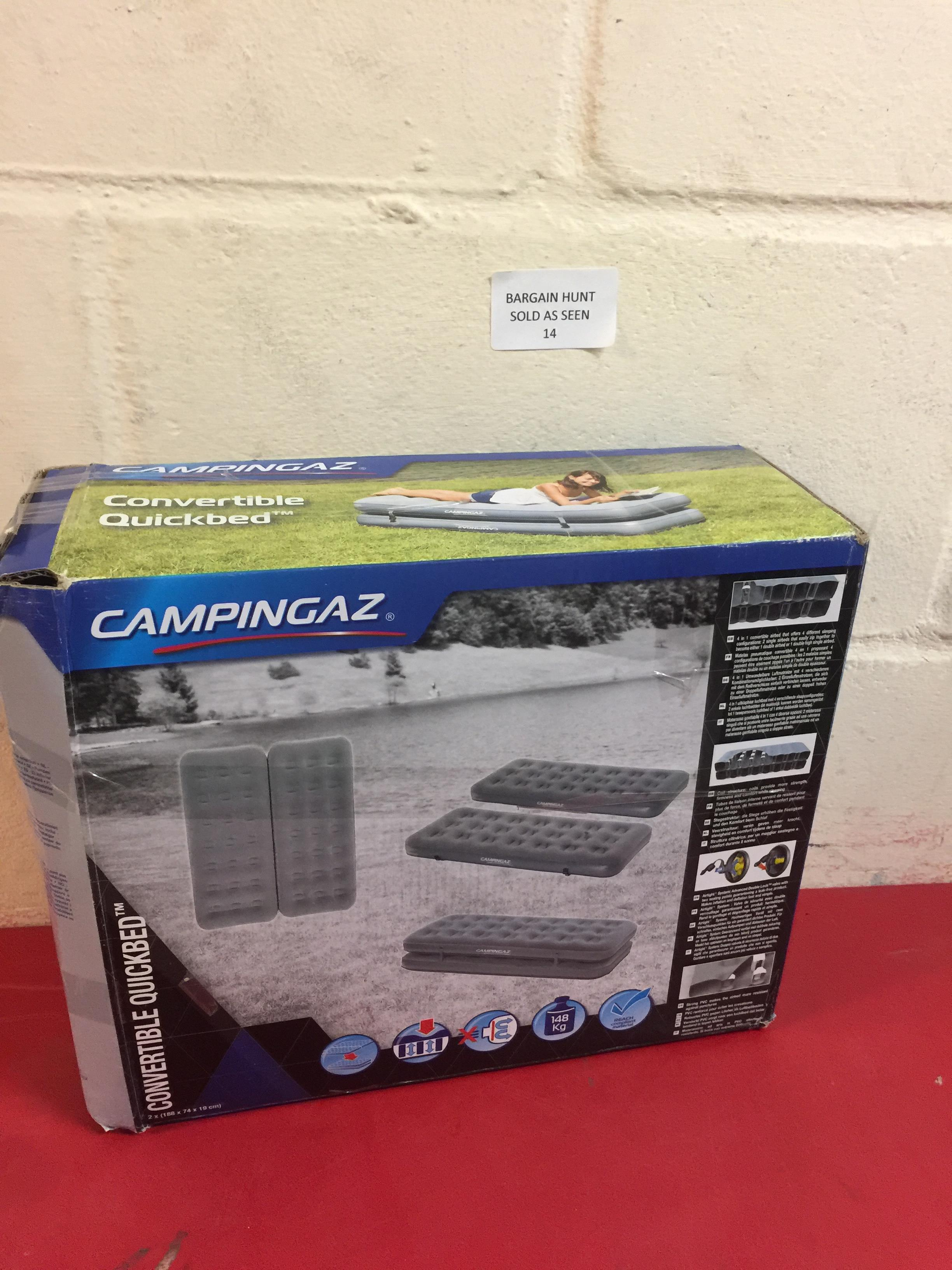 Lot 14 - Campingaz Convertible Quickbed