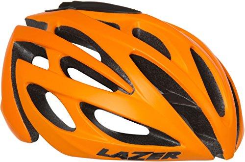 Lot 29 - Lazer O2 Helmet Orange Mat Flash Orange Size:M-L RRP £104.99