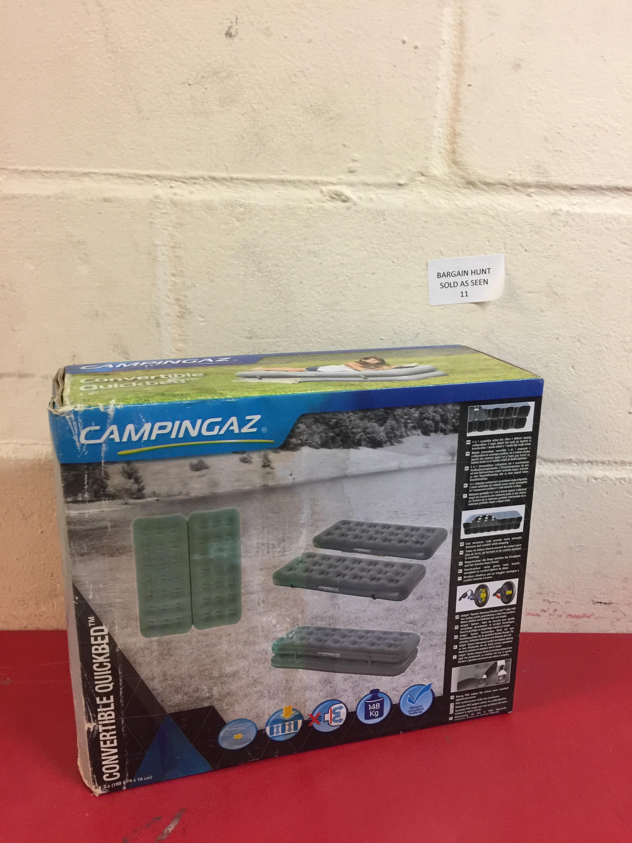 Lot 11 - Campingaz Convertible Quickbed