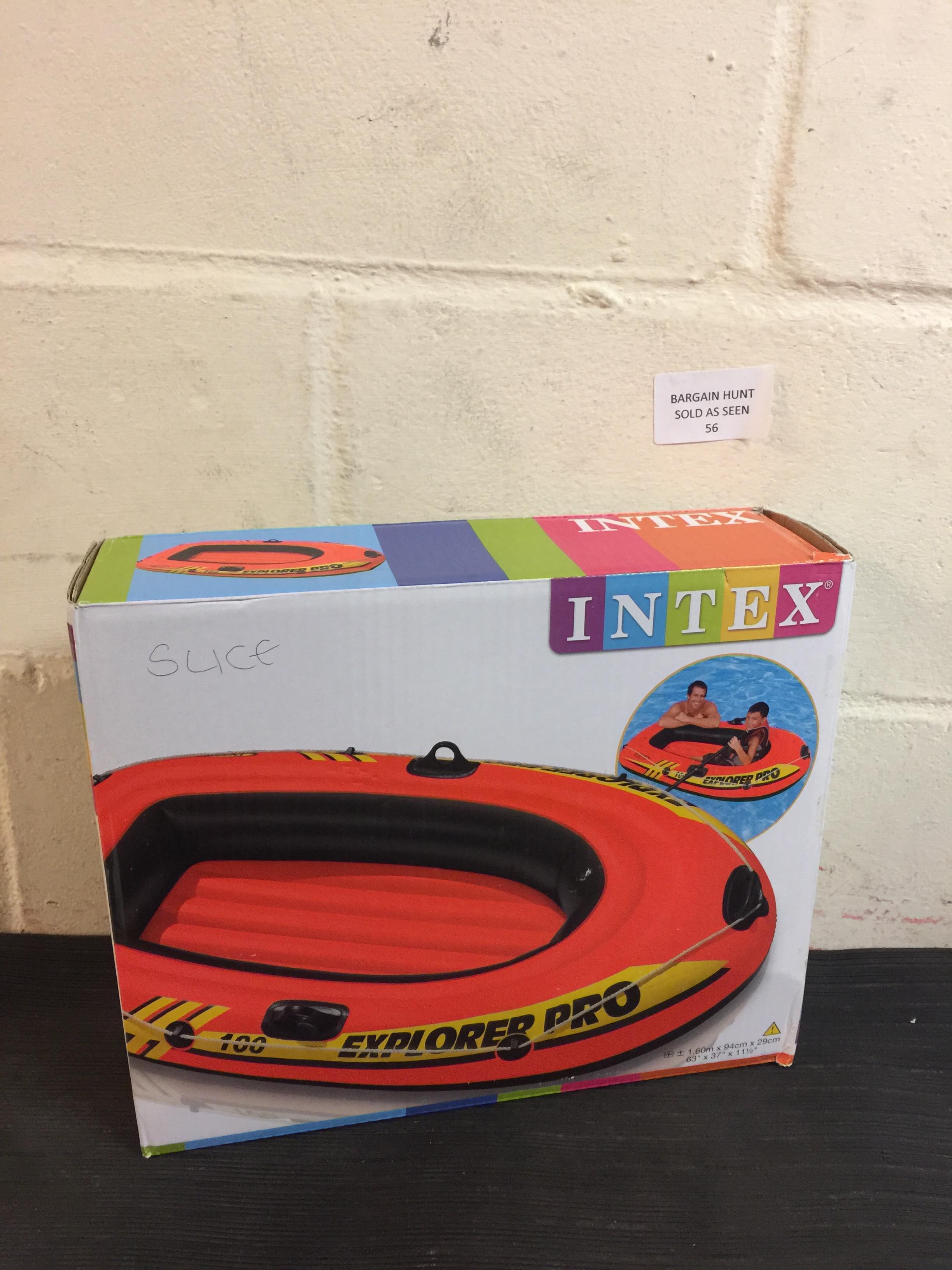 Lot 56 - Intex Explorer Pro Inflatable Boat