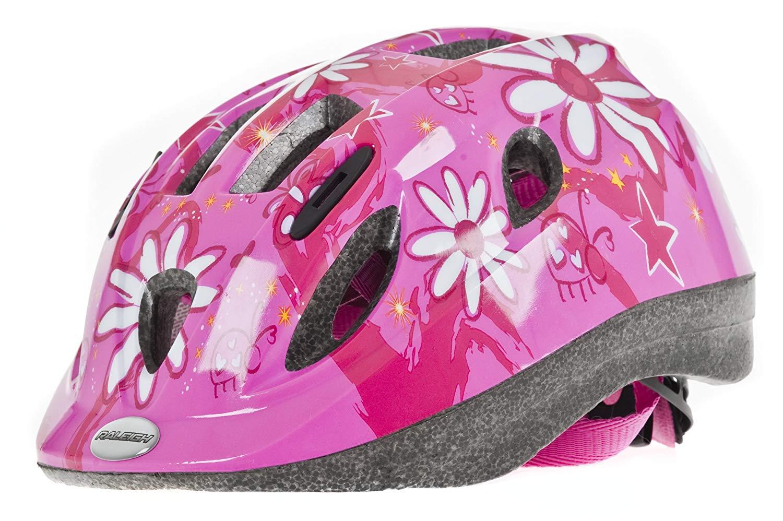 Lot 28 - Raleigh Mystery Pink Flower Girls Cycle Helmet