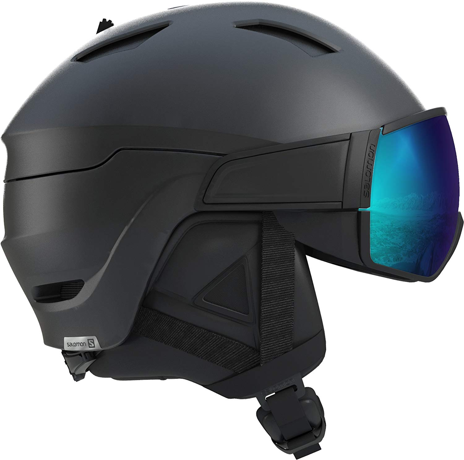 Lot 21 - Salomon Men's Driver S Helmets, Black Small RRP £138.99