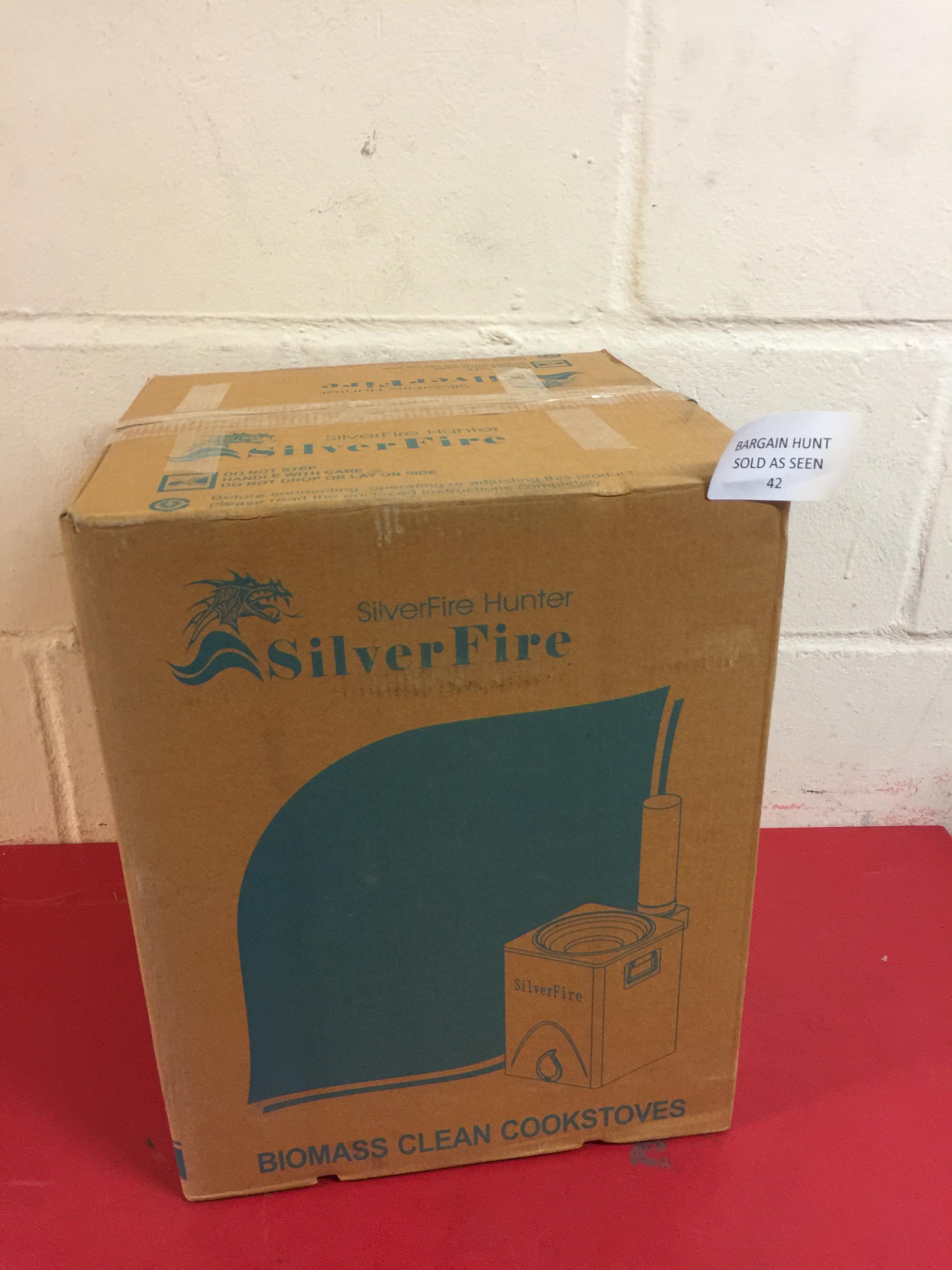Lot 42 - SilverFire Hunter Chimney Stove RRP £135