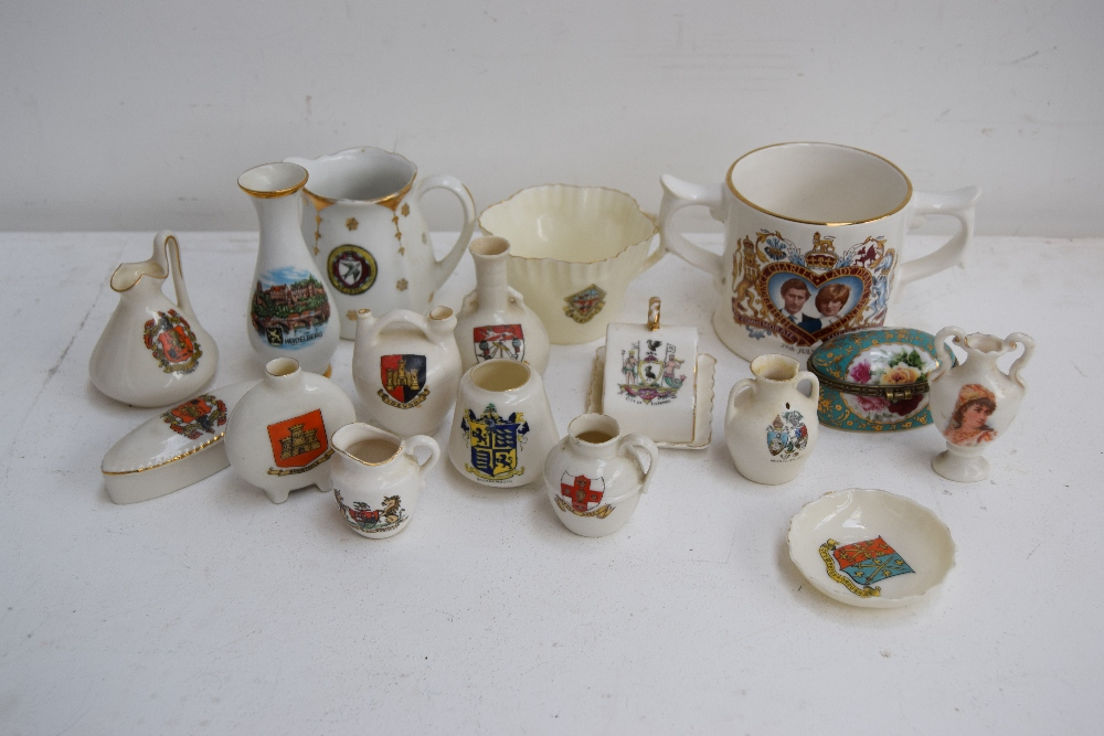 Lot 33 - A quantity of china including W. H Goss Arcadian China, Grafton China, J.