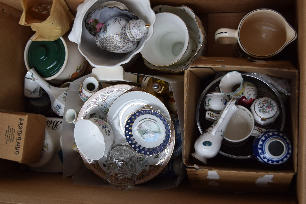 Lot 34 - A large quantity of china and glass including Wedgwood jasperware, Clyde CB Ltd.