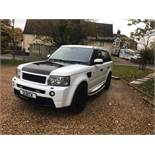 Range Rover Sport 2.7 TDV6 HSE Auto *OVERFINCH* (2007) Full Leather - Massive Spec