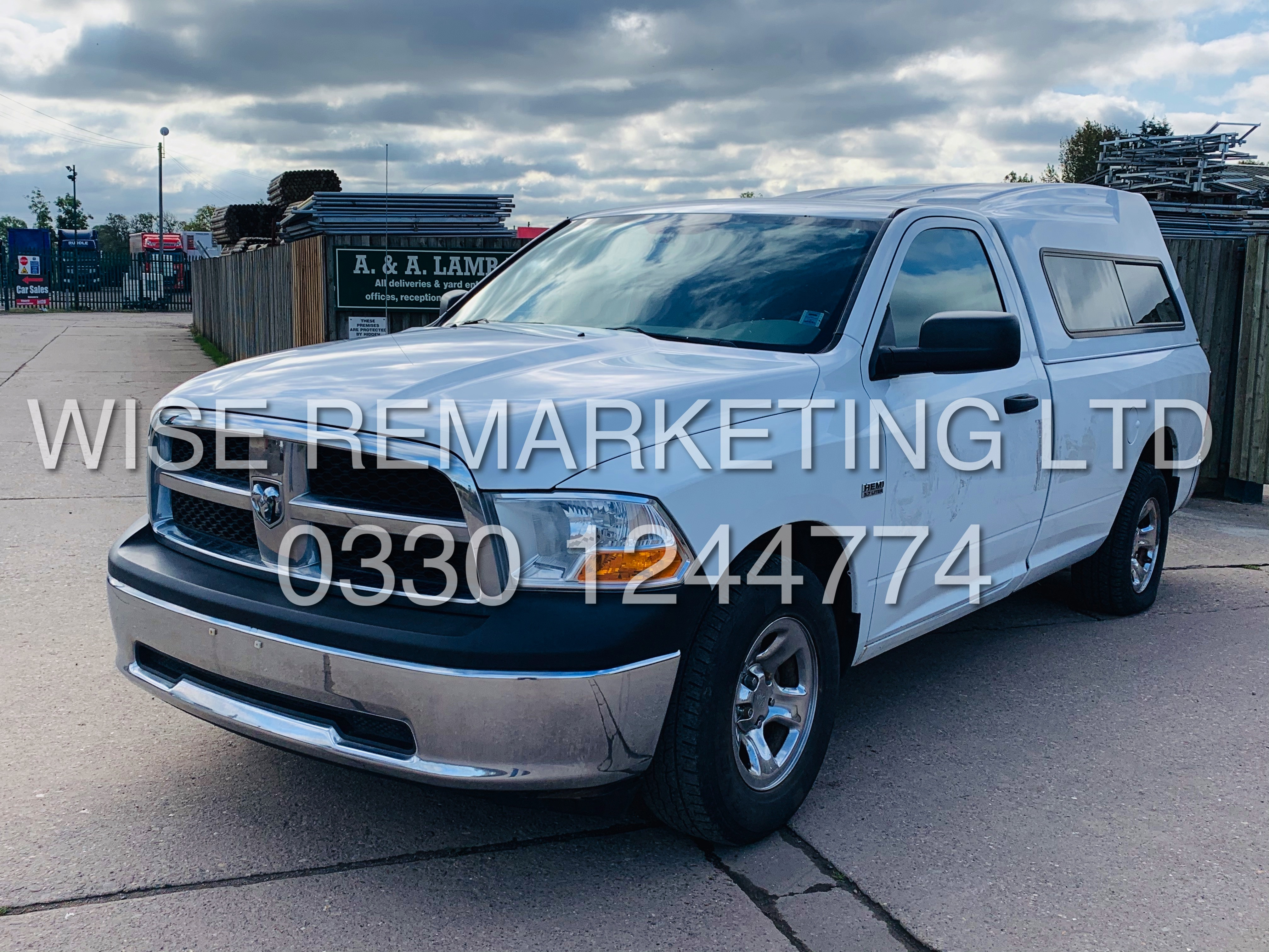 Lot 6 - ***RESERVE MET*** DODGE RAM 5.7L HEMI SINGLE-CAB**2011 YEAR****FRESH IMPORT**SHORT BOX**ULTRA RARE**